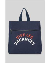 Whistles   Vive Les Vacances Rucksack   Lyst