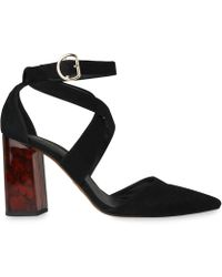 Whistles - Taylor Cross Front Marble Heel - Lyst