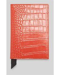 Whistles - Shiny Croc Passport Holder - Lyst