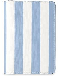 Whistles - Saffiano Stripe Card Holder - Lyst