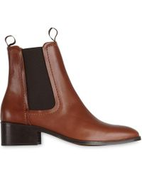 Whistles | Fernbrook Leather Chelsea Boot | Lyst