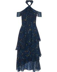 Whistles - Wheatsheaf Cold Shoulder Dress - Lyst