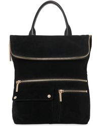 Whistles - Farrow Suede Pocket Backpack - Lyst