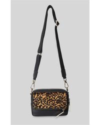 Whistles - Bibi Leopard Crossbody Bag - Lyst