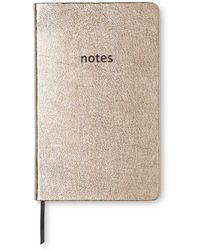 Whistles - Metallic Leather Notebook - Lyst