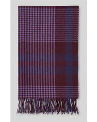 Whistles - Window Check Blanket Scarf - Lyst
