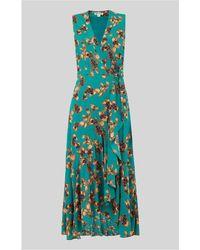 Whistles - Capri Print Wrap Dress - Lyst