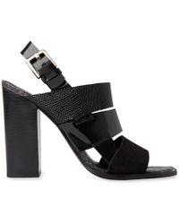 Whistles - Voe Panelled High Sandal - Lyst