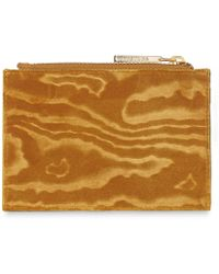 Whistles - Woodcut Velvet Coin Purse - Lyst
