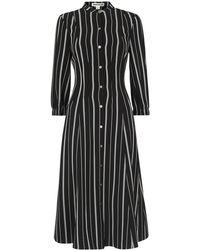 Whistles - Leesa Stripe Shirt Dress - Lyst