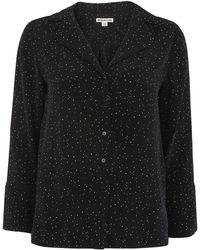 Whistles - Fleck Print Pyjama Shirt - Lyst