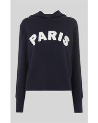 Whistles - Paris Fashion Hoodie - Lyst