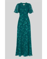 Whistles - Robyn Jacquard Maxi Dress - Lyst
