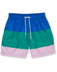 Whistles - Boardies Stripe Swim Short - Lyst