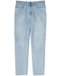 Whistles - Bleach Wash Regular Fit Jeans - Lyst