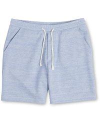Whistles - Marl Sweat Shorts - Lyst