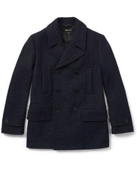 Whistles - 08:04 Textured Peacoat - Lyst