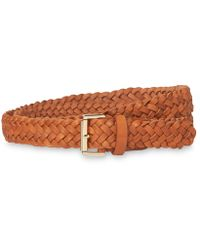 Whistles - Woven Leather Belt - Lyst