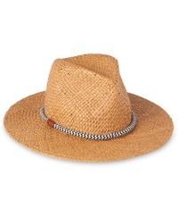 Whistles - Rope Detail Panama Hat - Lyst