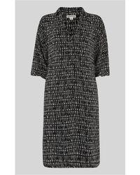 Whistles - Longline Sahara Print Dress - Lyst