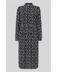 Whistles - Courtney Geo Printed Dress - Lyst