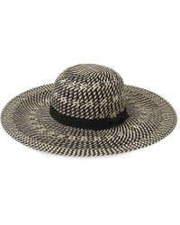Whistles - Interest Weave Sun Hat - Lyst