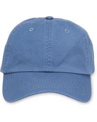 Whistles - Cotton Baseball Cap - Lyst