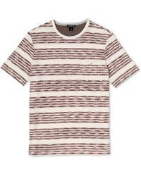 Whistles - Broken Stripe T-Shirt - Lyst