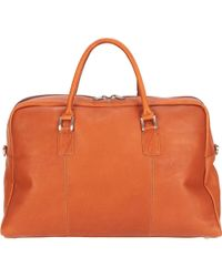 Wilsons Leather - Vacqueta Leather Duffel - Lyst
