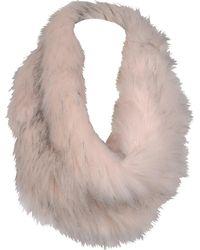 Wilsons Leather - Designer Brand Aspen Faux-fur Loop Scarf - Lyst