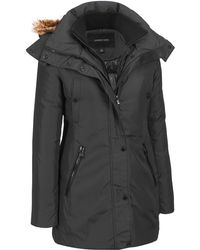 Wilsons Leather - Andrew Marc Down Parka W/ Coyote Fur Hood - Lyst