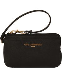 Wilsons Leather - Famous Maker Saffiano Leather Wristlet - Lyst