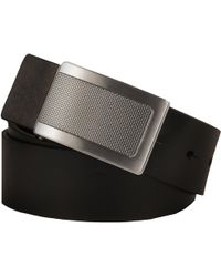 Wilsons Leather - Kenneth Cole Textured Plaque Reversible Faux-leather Belt - Lyst