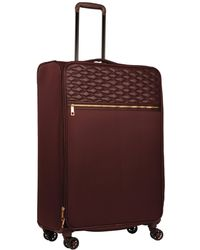 """Wilsons Leather - Famous Maker Quilted Softside 28"""" Quilted Luggage - Lyst"""