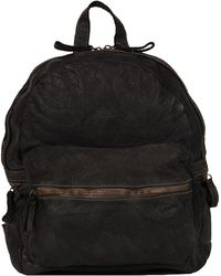 Wilsons Leather - Vintage Woven Leather Backpack - Lyst