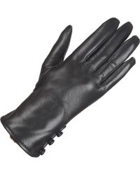 Wilsons Leather - Three Button Faux-fur Lined Cuff Glove W/ Fourchette - Lyst