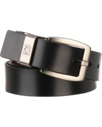 Wilsons Leather - Kenneth Cole Leather Double Center Belt - Lyst