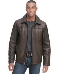 Wilsons Leather - Contemporary Open Bottom Leather Jacket W/ Thinsulatetm Lining - Lyst