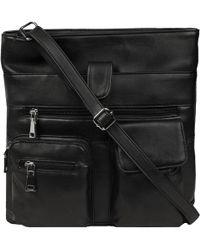 Wilsons Leather - Organizer Mid Size Crossbody W/front Organizer Pockets - Lyst
