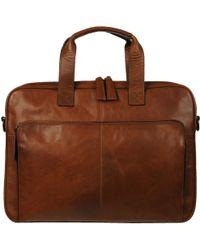 Wilsons Leather - Vintage Crunch Slim Leather Brief - Lyst