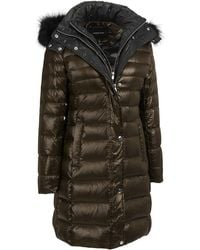 Wilsons Leather - Andrew Marc Quilted Down Jacket W/ Removable Fox Fur Hood - Lyst
