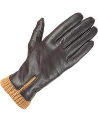 Wilsons Leather - Knit Cuff Leather Glove W/ Fourchette - Lyst