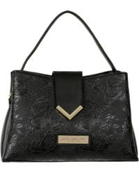 10acaf070021 Wilsons Leather - Marc New York Flap Over Faux-leather Satchel W/ Embossed  Floral