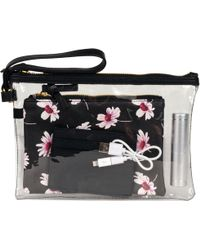 Wilsons Leather - Daisy Print 4-in-1 Faux-leather Wristlet - Lyst