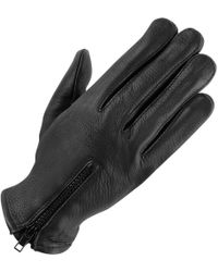 Wilsons Leather | Unlined Leather Driving Glove W/ Zipper | Lyst