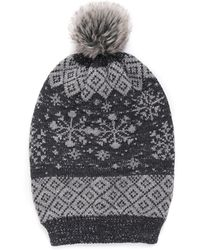 Wilsons Leather - Muk Luks® Slouch Beanie - Lyst
