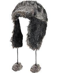 d91969f1a Faux-fur Trapper Hat