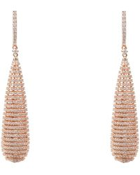 LÁTELITA London - Athena Spiral Earrings Rosegold - Lyst