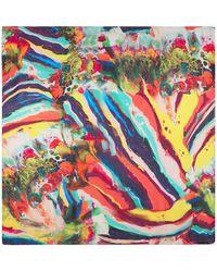 Klements - Medium Scarf In Magma Print. - Lyst
