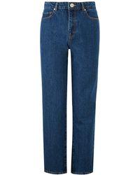 Baukjen - The Straight Leg Jean In Seventies Blue - Lyst